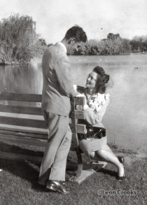 My parents were married in Phoenix, and, as is obvious in this photograph, were very much in love.