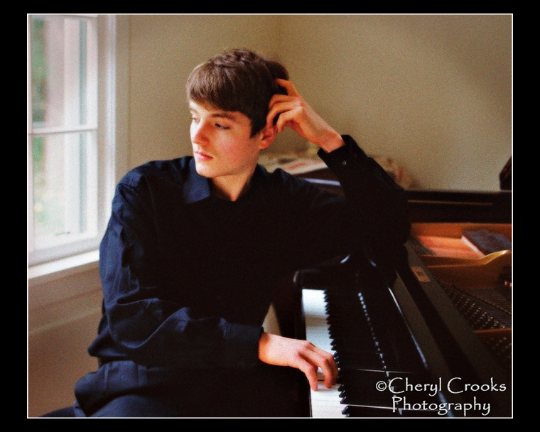 The young man pictured here was chosen to solo with the Mount Baker Youth Symphony in 2006.