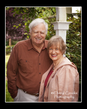 To celebrate their 40th anniversary, Eileen and Richard engaged me for a portrait of the two of them.