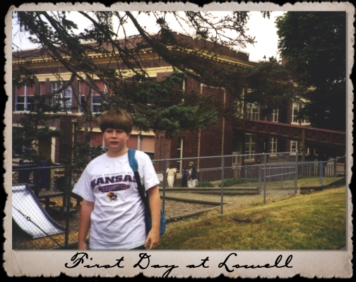 First Day at Lowell