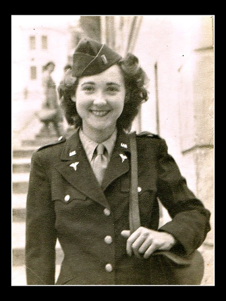 Only in her early 20s, my mother-in-law served as an Army nurse in Europe during World War II.