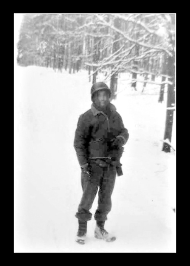 The winter of 1944-45 was one of the most brutal of the 20th century and left soldiers, like my father, doing all they could to keep warm by sleeping in foxholes and covered with only a wool blanket. Many soldiers suffered from 'trench foot' and were, undoubtedly treated by nurses like my mother-in-law.