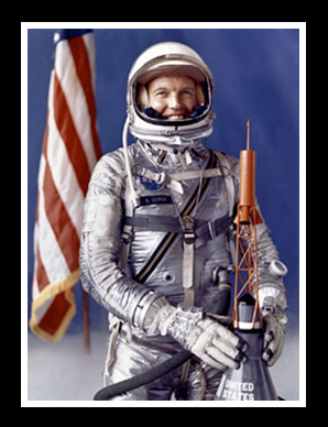 Astronaut Gordon Cooper was the keynote speaker at the 1964 PPA convention.