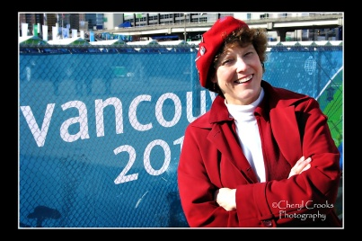 Going to the 2010 Olympics in Vancouver was a big thrill. Guess I can cross that one off my'bucket list.'