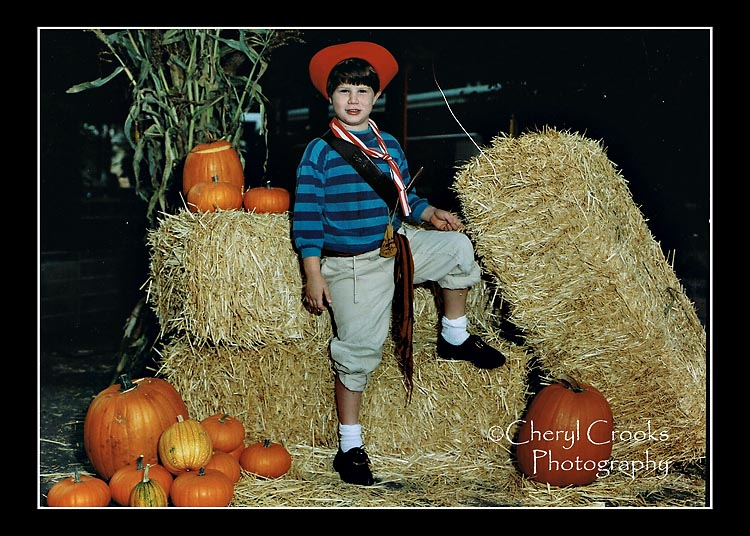 My youngest son, shown here in his Bucaneer's costume, loved the school's Halloween festival and went even before he was a student there.