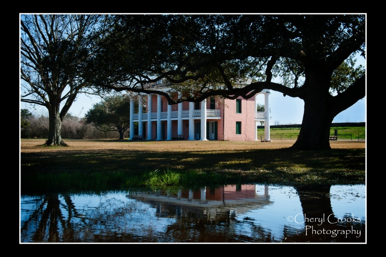 The two-story Maltus-Beauregard House was built on the Chalmette Plantation in 18TK.