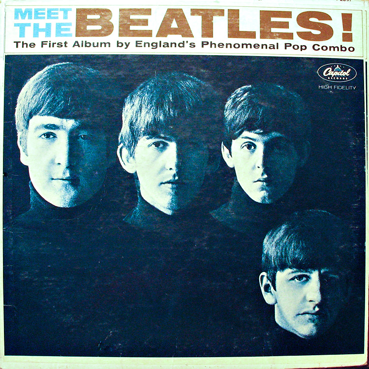 My Dad surprised me with the Beatles first album.
