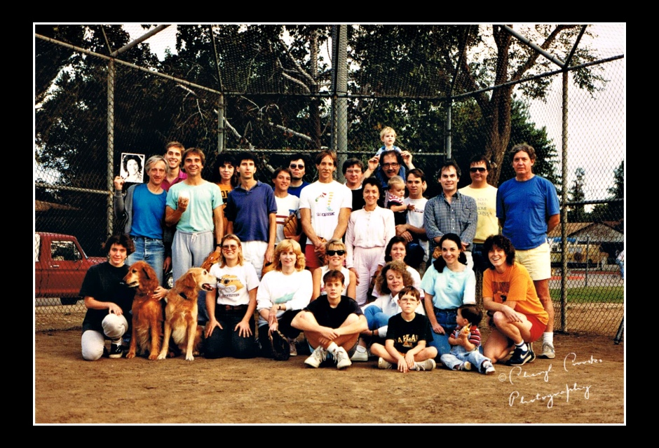 The Sunday summer softaball team played pick up games for years.